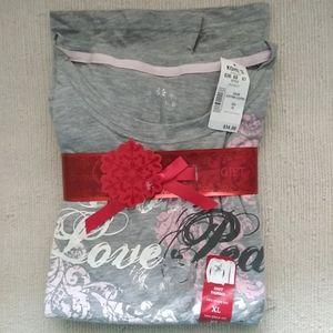Sonoma NWT 2pc pajama set XL